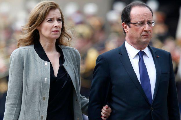Valérie Trierweiler et François Hollande, le 11 juin 2013.