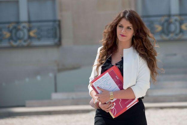 Marlène Schiappa à l'Elysée le 22 juin.