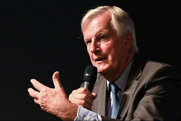 Michel Barnier, candidat LR à l'investiture de la droite pour la présidentielle, ici en septembre à Nîmes.