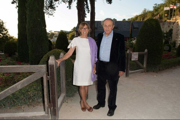 Sylvie et Michel Rocard en 2012.