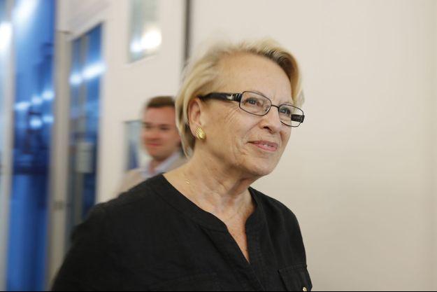 Michèle Alliot-Marie photographiée en juillet dernier.