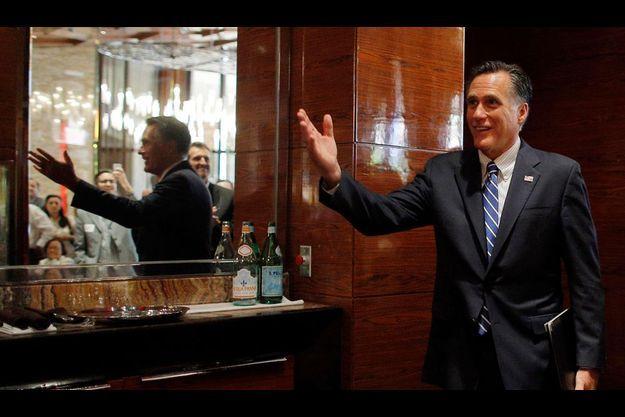 Mitt Romney à Las Vegas le 21 septembre