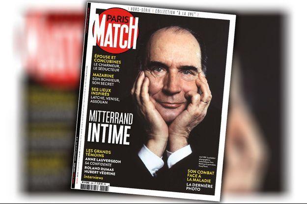 Mitterrand intime hors-série Paris Match