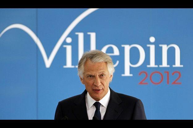 Dominique de Villepin, le 16 janvier dernier.