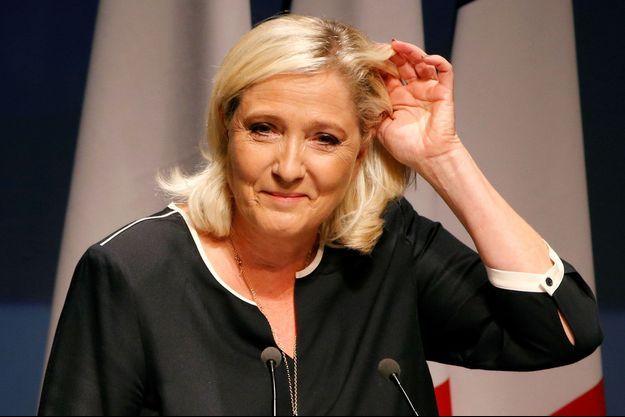 Marine Le Pen, ici en septembre 2019 à Fréjus.