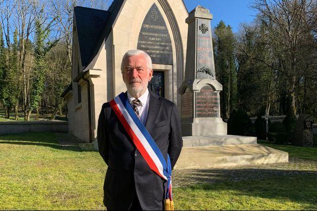 Gérard Gervaise, maire de Haumont-près-Samogneux