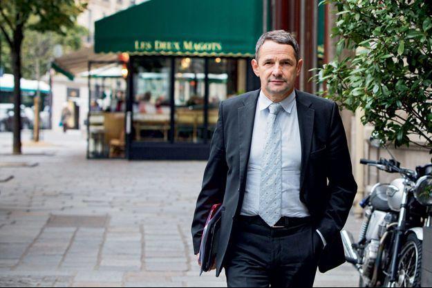 Thierry Mandon à Paris le 7 octobre.