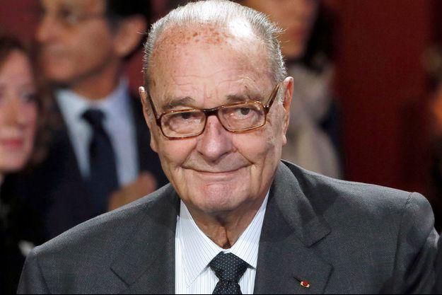 Jacques Chirac ici novembre 2014.