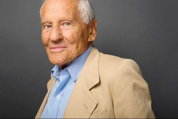 Jean d'Ormesson, ici en 2010