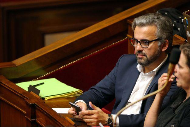 Alexis Corbière, ici à l'Assemblée nationale en novembre dernier.