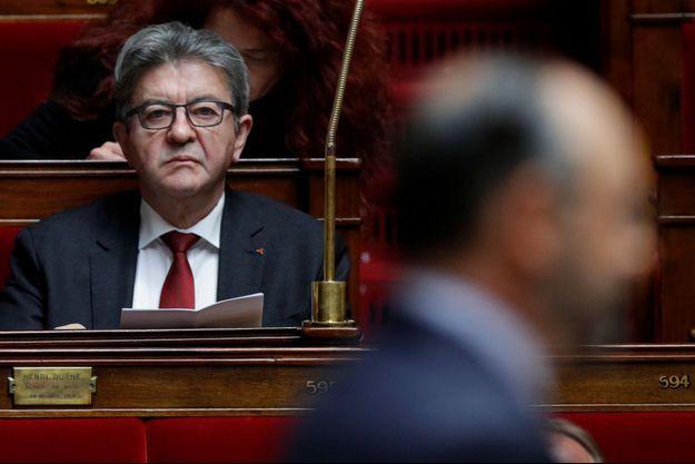 Jean-Luc Mélenchon ici à l'Assemblée, en juin.