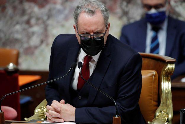 Richard Ferrand, ici à l'Assemblée nationale le 16 mars.