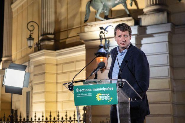 Yannick Jadot, dimanche 15 mars, à Paris.