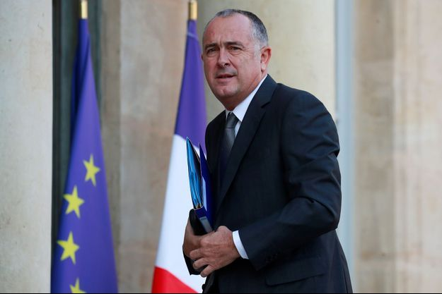 Le ministre de l'Agriculture Didier Guillaume, ici à l'Elysée en octobre 2018.
