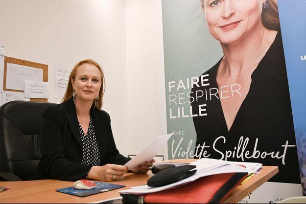 La candidate LREM aux élections municipales à Lille, Violette Spillebout, ici en octobre 2019.
