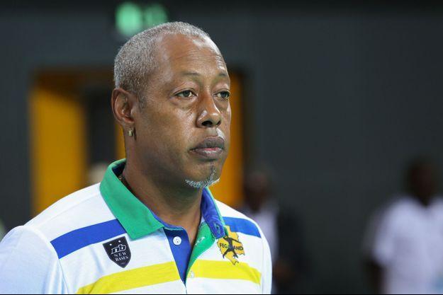 Jackson Richardson, ici à Libreville (Gabon) en janvier 2018.