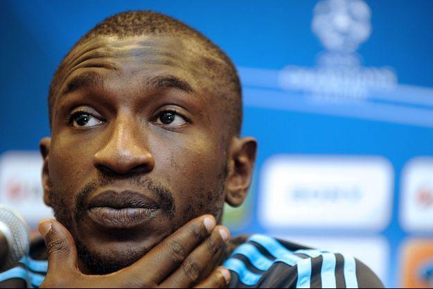 Mamadou Niang ici en septembre 2008 à Marseille.