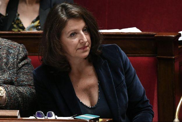 Agnès Buzyn, mardi à l'Assemblée nationale.