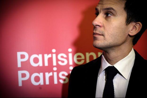 """Gaspard Gantzer, ici en novembre 2019, alors en campagne pour """"Parisiennes, Parisiens""""."""