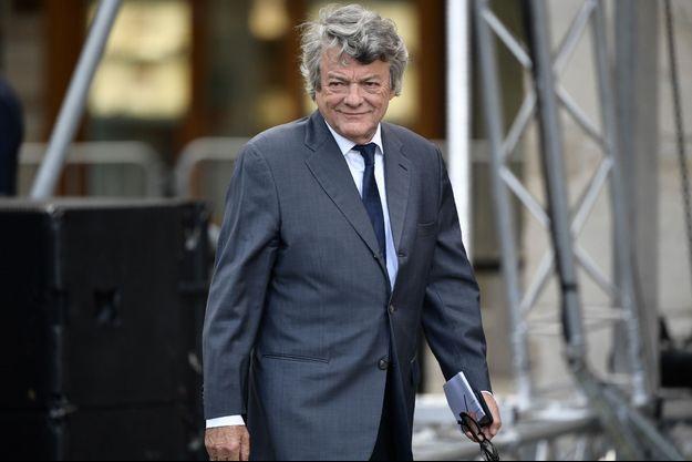 Jean-Luc Borloo, ici aux obsèques de Jacques Chirac fin septembre.