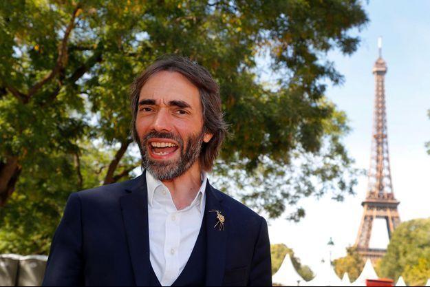 Cédric Villani à Paris, le 6 septembre dernier.