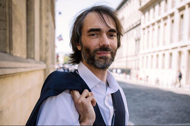 Cédric Villani, le 23 juillet à Paris.
