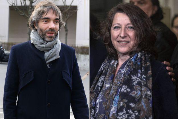 L'ex-marcheur Cédric Villani et l'ex-ministre Agnès Buzyn (montage)