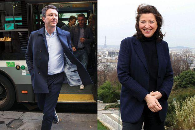 Benjamin Griveaux et Agnès Buzyn, les deux visages de la défaite annoncée pour LREM à la municipale parisienne.