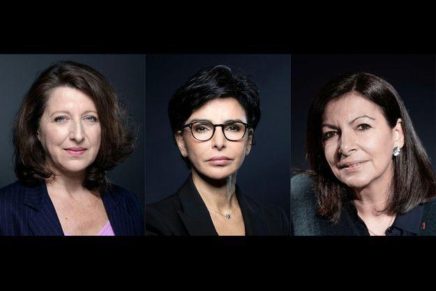 Agnès Buzyn, Rachida Dati, Anne Hidalgo