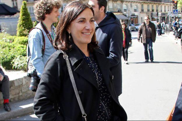 Sandrine Mazetier ici à Paris en 2017.