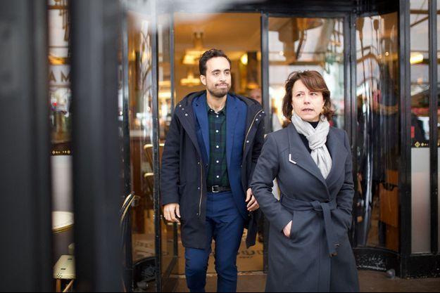 Mounir Mahjoubi et Delphine Bürkli.