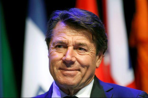 Le maire de Nice Christian Estrosi