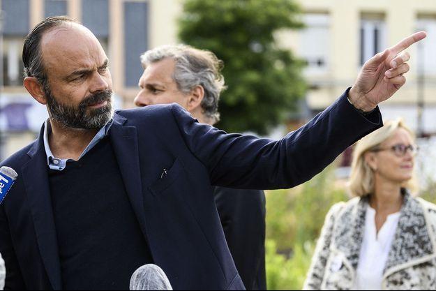 Edouard Philippe, au Havre, le 21 juin 2020.