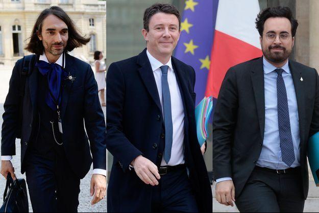 Cédric Villani, Benjamin Griveaux et Mounir Mahjoubi.