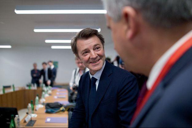 François Baroin (LR), candidat à un cinquième mandat à Troyes.