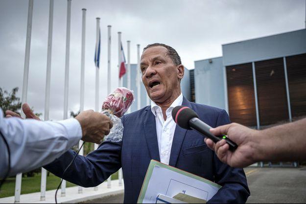Le président de la Collectivité territoriale de Guyane, Rodolphe Alexandre