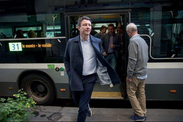 Benjamin Griveaux, porte-parole du gouvernement, part à la rencontre des Parisiens, le samedi 29 septembre.