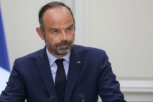 Edouard Philippe, mercredi à l'Elysée.