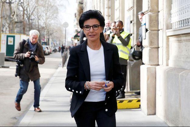 Rachida Dati le 15 mars à Paris.