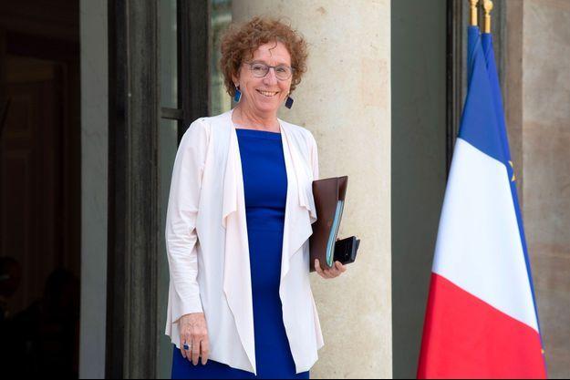 Muriel Pénicaud à l'Elysée, le 17 juillet.