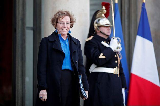 Muriel Pénicaud, mercredi à l'Elysée, lors du premier Conseil des ministres de l'année.
