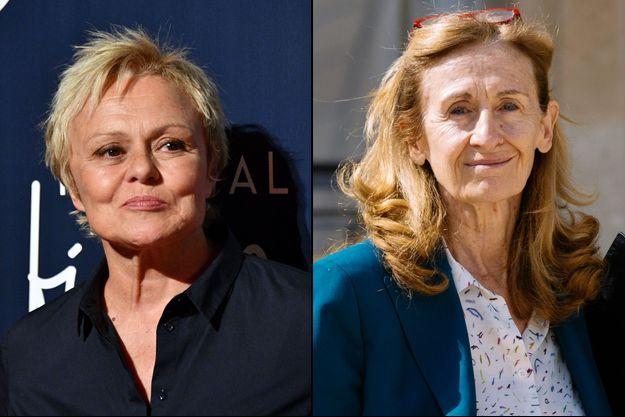 Muriel Robin a évoqué avec Nicole Belloubet la création d'un groupe de travail sur les féminicides.