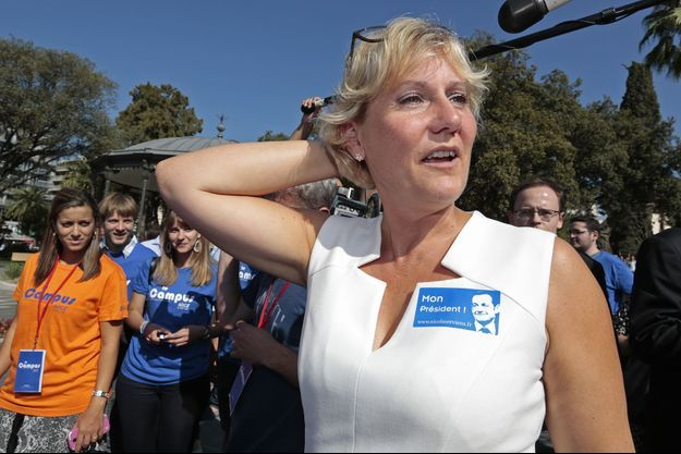 L'eurodéputée Nadine Morano, photographiée en 2014.