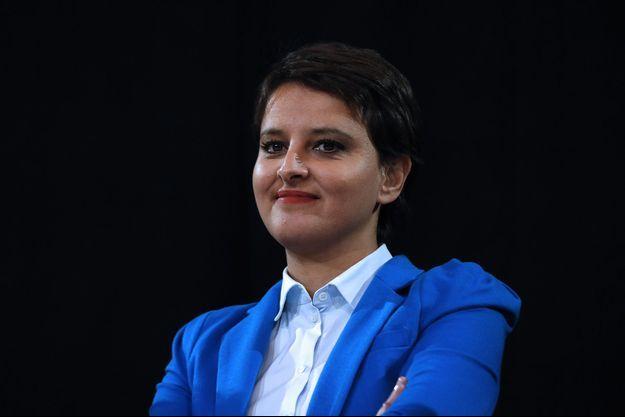 La ministre de l'Education Najat Vallaud-Belkacem.