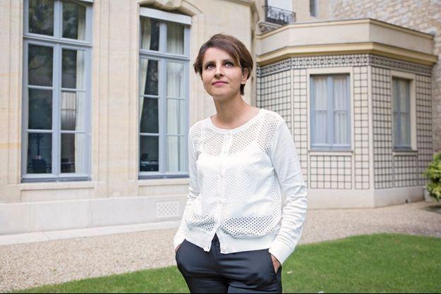 Najat Vallaud-Belkacem, ministre des Droits des femmes.