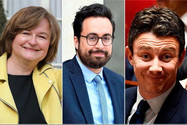 Nathalie Loiseau (Affaires européennes), Mounir Mahjoubi (Numérique) et Benjamin Griveaux (porte-parole) ont quitté le gouvernement.