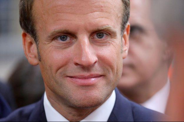Emmanuel Macron à Bonneuil-sur-Marne, le 10 septembre.