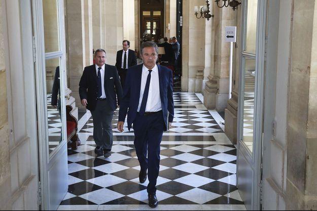 Nicolas Dupont-Aignan à l'Assemblée nationale, le 4 juillet.