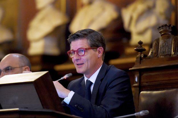 Nicolas Florian est le nouveau maire de Bordeaux.