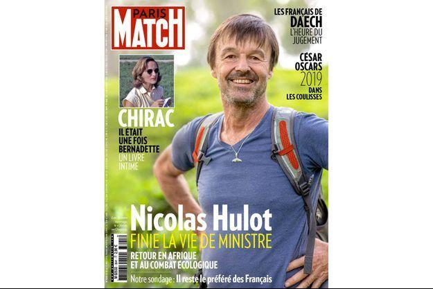 La couverture du numéro 3642 de Paris Match.